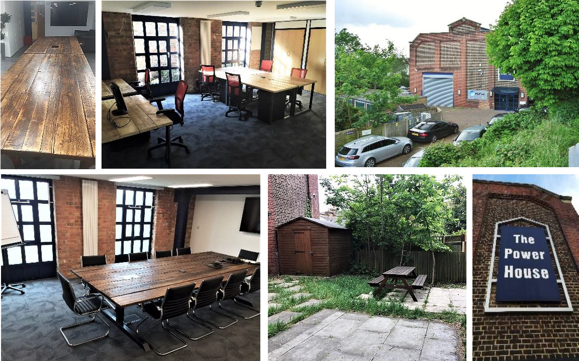 The Power House is a unique contemporary office space to let in Linkfield Road, Isleworth, Greater London, TW7 6QG